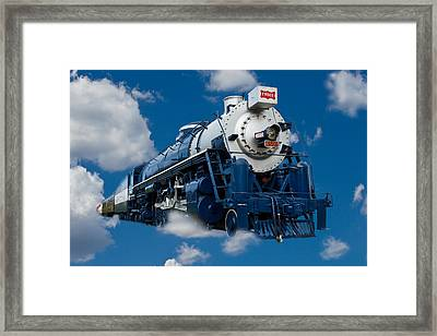 Out Of The Blue Framed Print by Doug Long