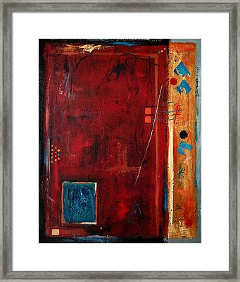 Out Of The Box Framed Print by Ruth Palmer