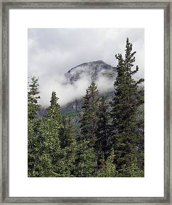 Out Of The Clouds Framed Print