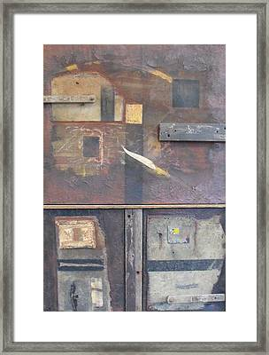 Out Of The Dust Framed Print by Ralph Levesque
