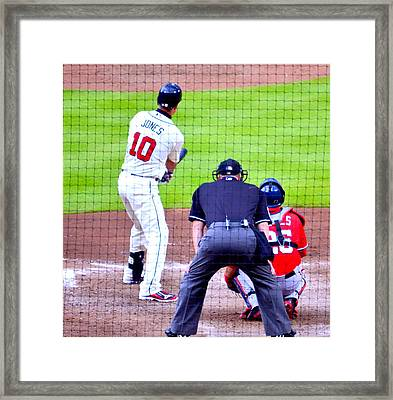 Out Of The Park..... Framed Print by Tanya Tanski