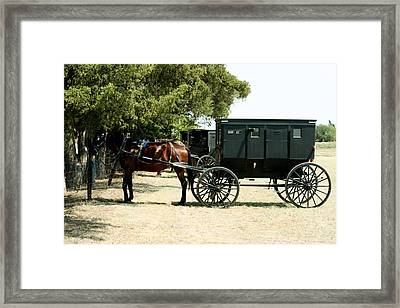 Out Of The Past Framed Print by Carolyn Ardolino