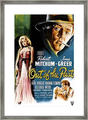 Out Of The Past, Jane Greer, Robert Framed Print