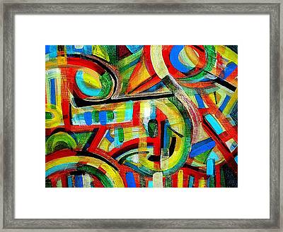 Out Of Tune Framed Print by Aquira Kusume