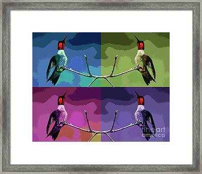 Out On A Limb - Serigraph Framed Print