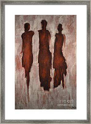 Out On The Town Framed Print by Vincent Avila