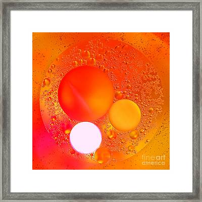 Out There Framed Print by Olivier Le Queinec