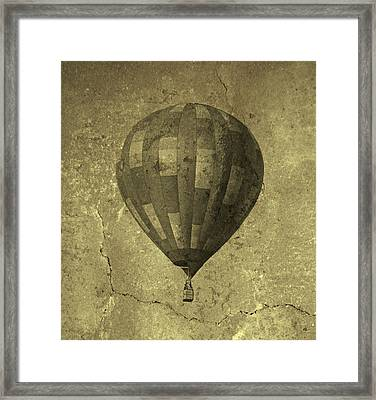 Out There Somewhere Framed Print by Betsy Knapp