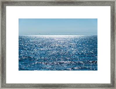 Out To Sea Framed Print by Christina Klausen