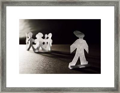 Outcast Framed Print by Katelynn Johnston
