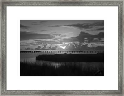 Outer Banks Sunset Framed Print