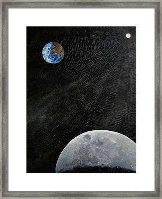 Outer Space Framed Print by Alan Schwartz