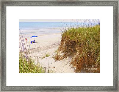 Outerbanks Framed Print by Lydia Holly