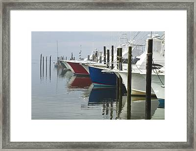 Outerbanks Morning Framed Print