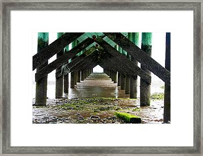 Outgoing Tide Framed Print by Shaileen Landsberg