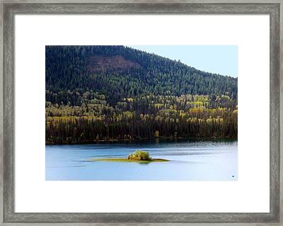 Outlook 18 Framed Print by Will Borden