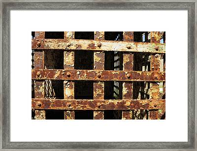 Framed Print featuring the photograph Outside Looking In by Fran Riley
