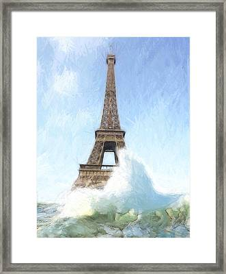 Outside The Ark Framed Print by Steve K