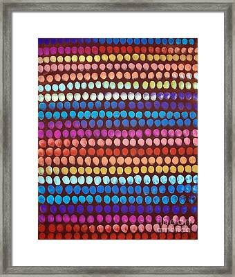 Outsider Abstract Framed Print by Karla Gerard