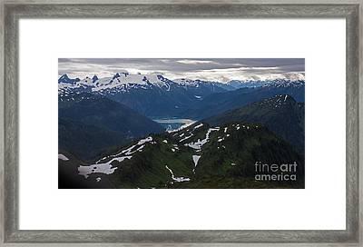 Over Alaska Framed Print by Mike Reid