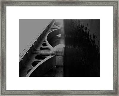 Over The Bridge Framed Print by Jerry Cordeiro
