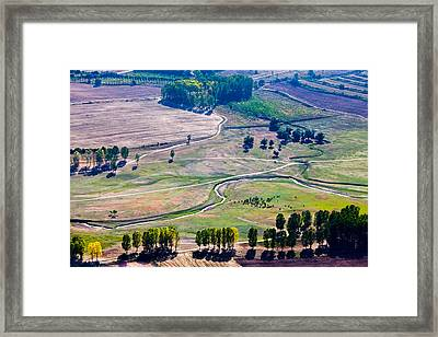Over The Green Valley Framed Print by Evgeni Dinev