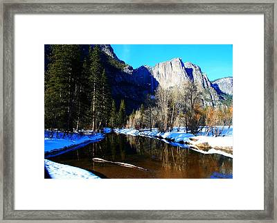 Over The Meadow Framed Print