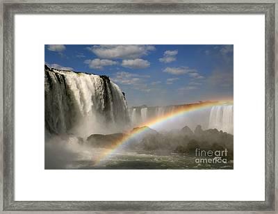 Over The Rainbow Framed Print by Keith Kapple