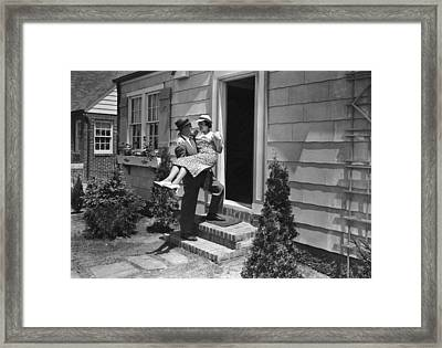 Over The Threshold Framed Print by James G Welgos