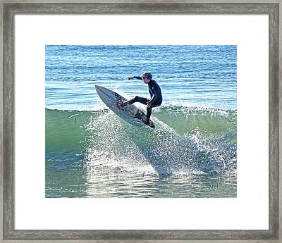 Over The Top 2 Framed Print
