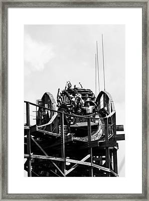 Over The Top Framed Print by Nicholas Evans