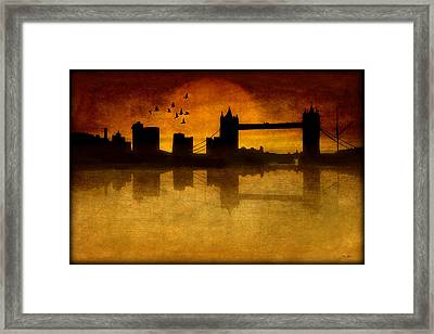 Over The Tower Bridge Framed Print by Tom York Images