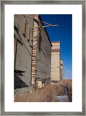 Overgrown Rails Framed Print by Jill Lassaline