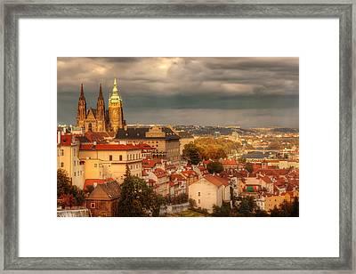 Overlook Prague Framed Print by John Galbo