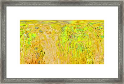 Overlooking The Valley Framed Print
