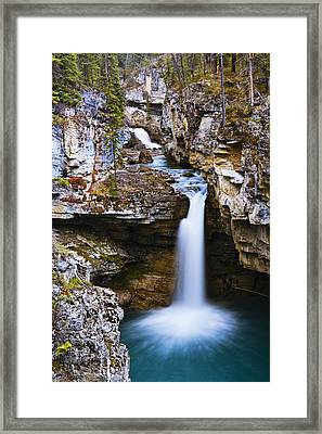 Overview Of Icefields Parkway, Beauty Framed Print by Yves Marcoux