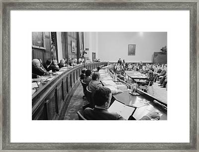 Overview Of The House Judiciary Framed Print