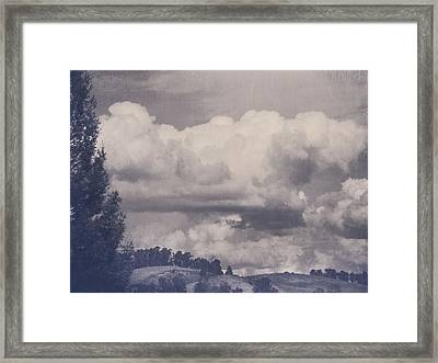 Overwhelmed Framed Print by Laurie Search
