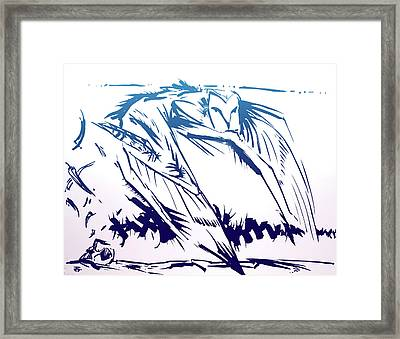 Owl Wind Framed Print
