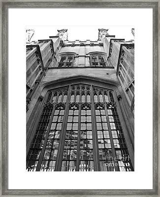 Oxford - Architecture Framed Print by Jo