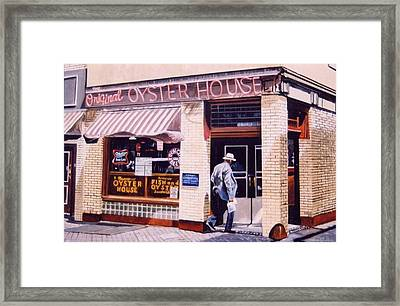 Oyster  House Framed Print by James Guentner