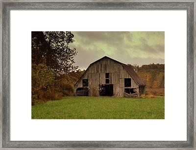 Ozark Barn 5 Framed Print by Marty Koch