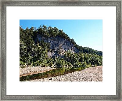 Ozark Bluffs Framed Print by Jim Goldseth