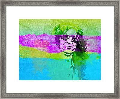 Ozzy Osbourne Framed Print by Naxart Studio