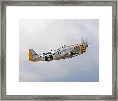 P-47 01 Framed Print by Jeff Stallard
