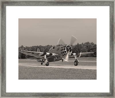 P-47 02 Framed Print by Jeff Stallard