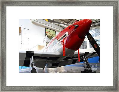 P-51b Mustang Replica Fighter Plane . 7d11157 Framed Print by Wingsdomain Art and Photography