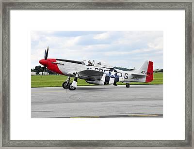 P-51d Mustang Framed Print by Dan Myers