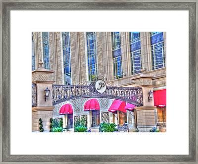 P Framed Print by Barry R Jones Jr