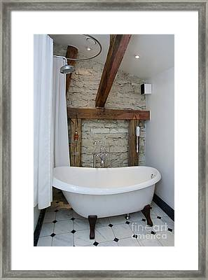 Pädaste Manor Bathtub Framed Print by Jaak Nilson